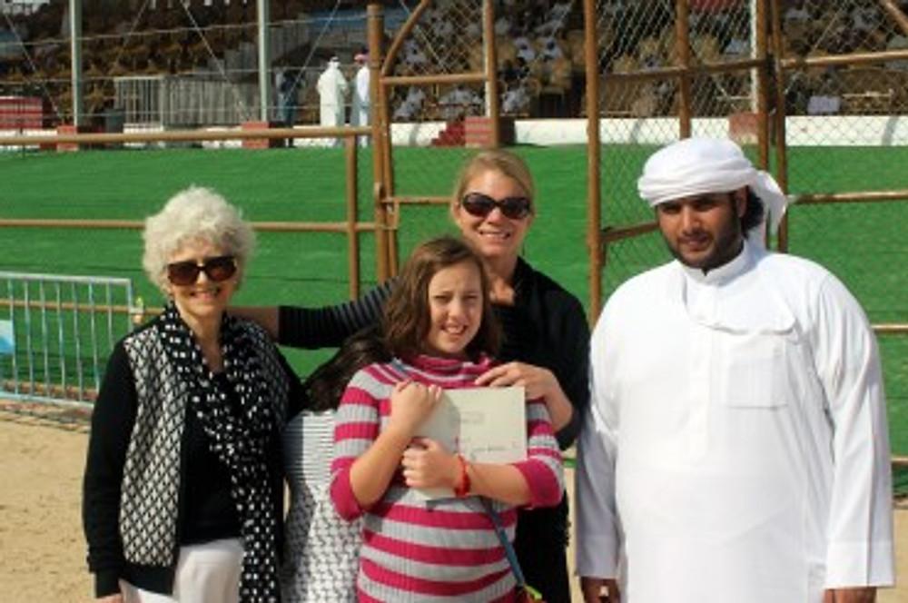 Emirati tour guide