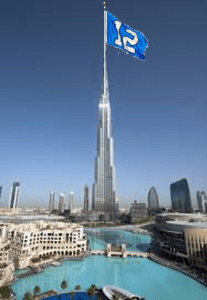 12th Man on the Burj Khalifa