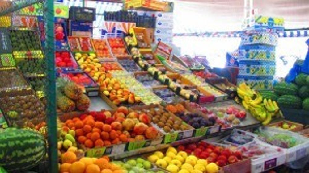 Abu Dhabi Fruit market