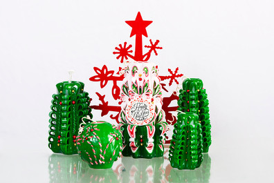 Christmas candle gift idea