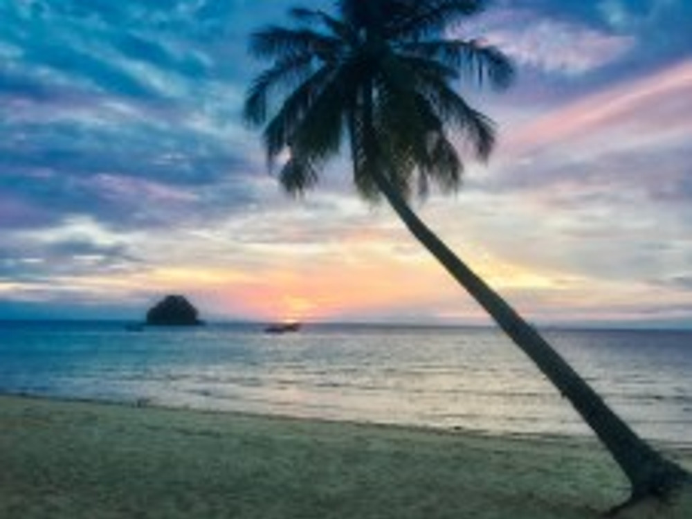 Enjoy magical sunsets every evening on Tioman Island
