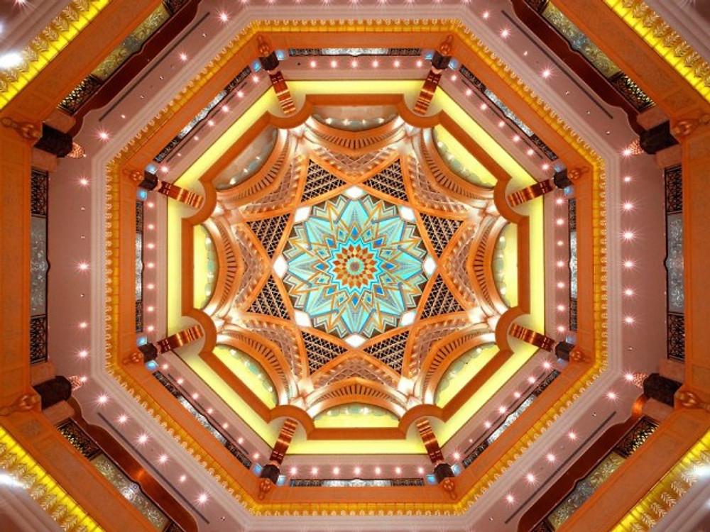 Lobby Ceiling, Emirate's Palace, Abu Dhabi