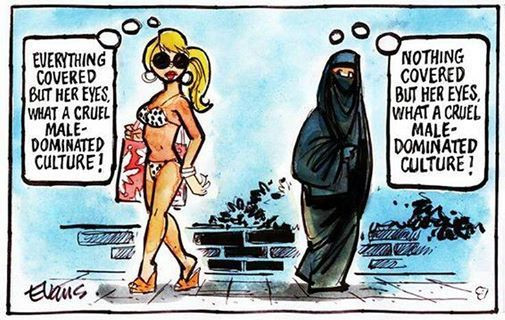 Muslim:west cover up
