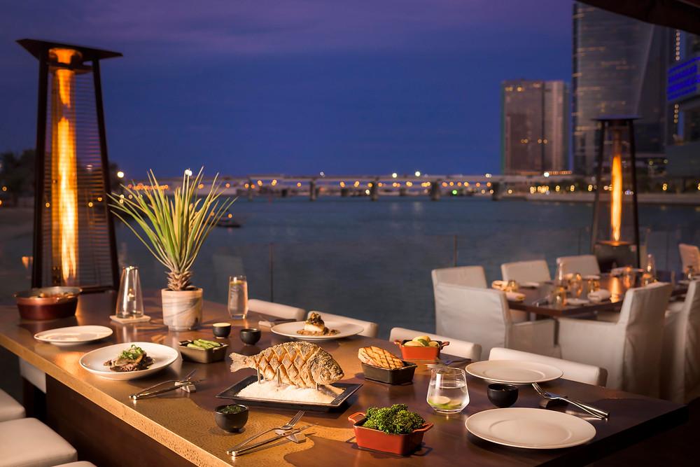 Finz Restaurant, Beach Rotana