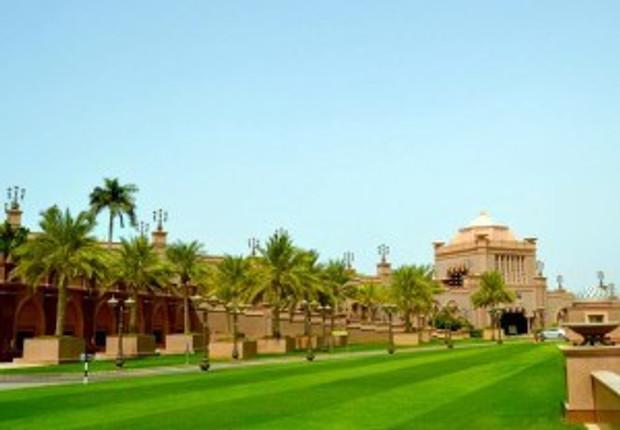 Emirates' Palace Side Gardens