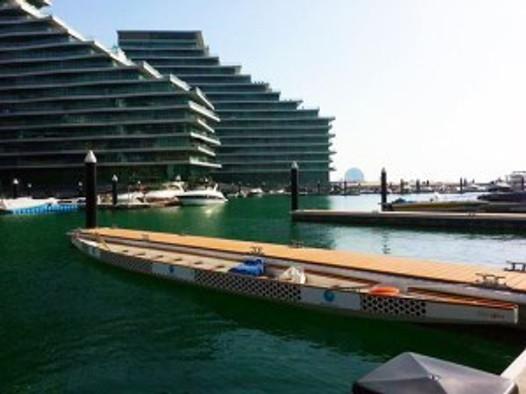 Dragon-boating, Al Bandar, Abu Dhabi