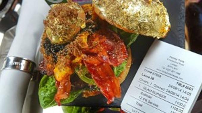 World's most expensive hamburger, credit GROUPON