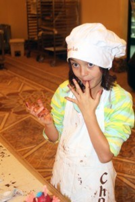 Chocolate class, Shangri-La Hotel Abu Dhabi