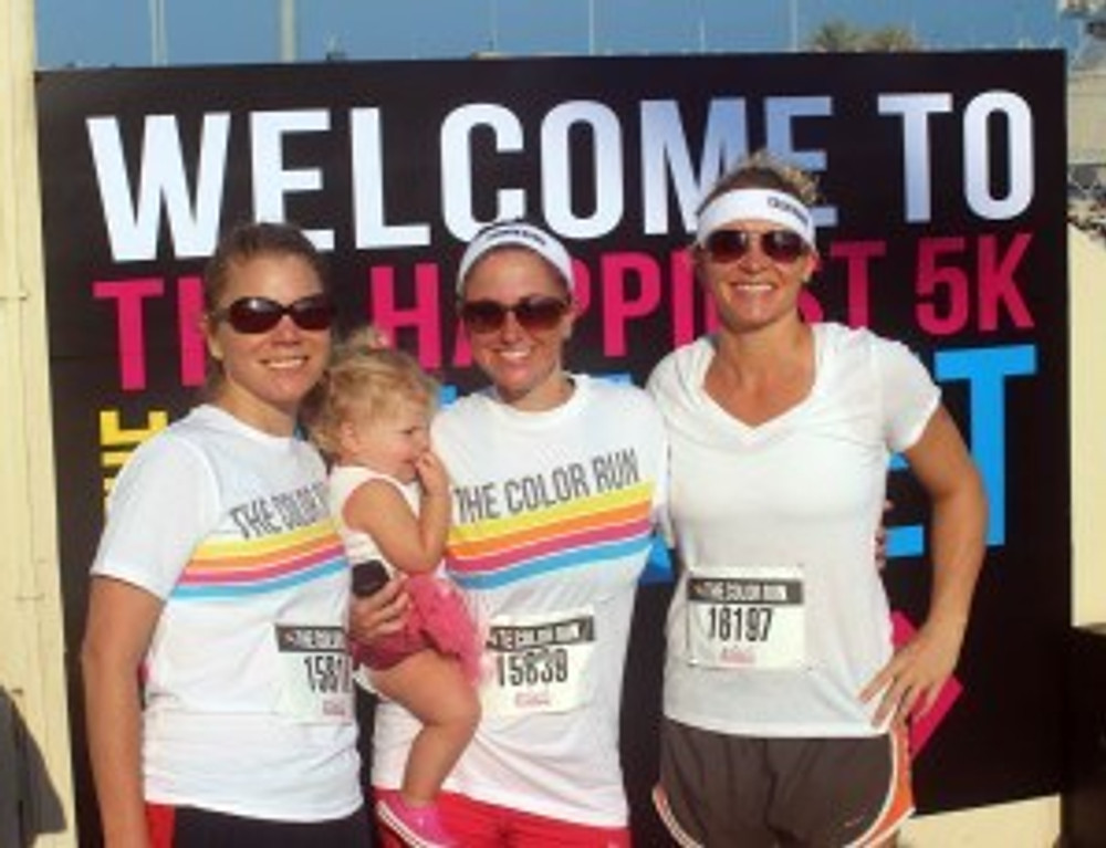 Color Run Abu Dhabi 2014
