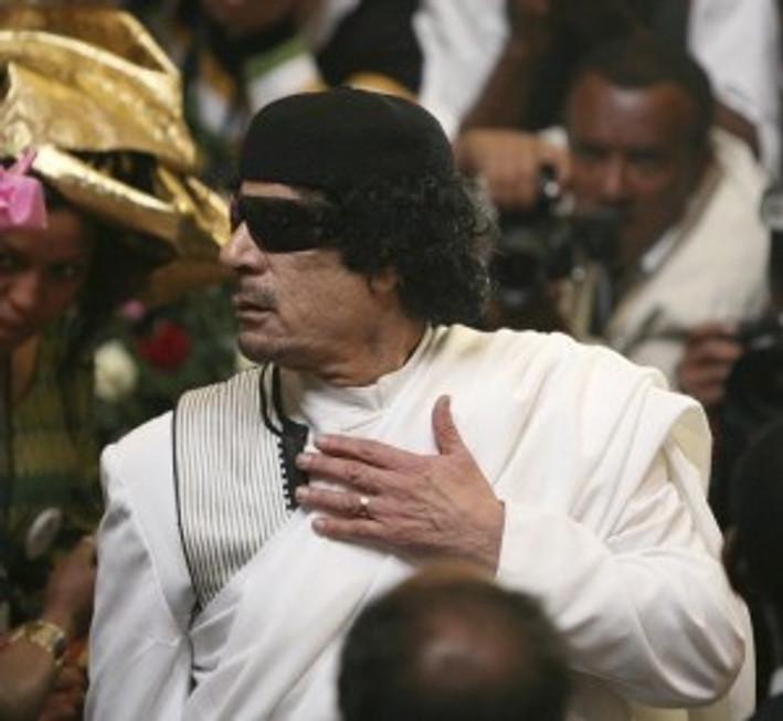 Gadaffi or Carlos Santana?