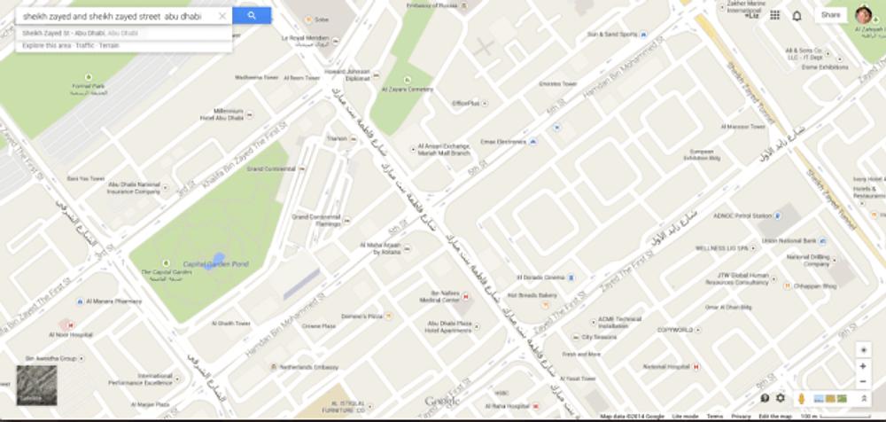 Sheik Zayed Street