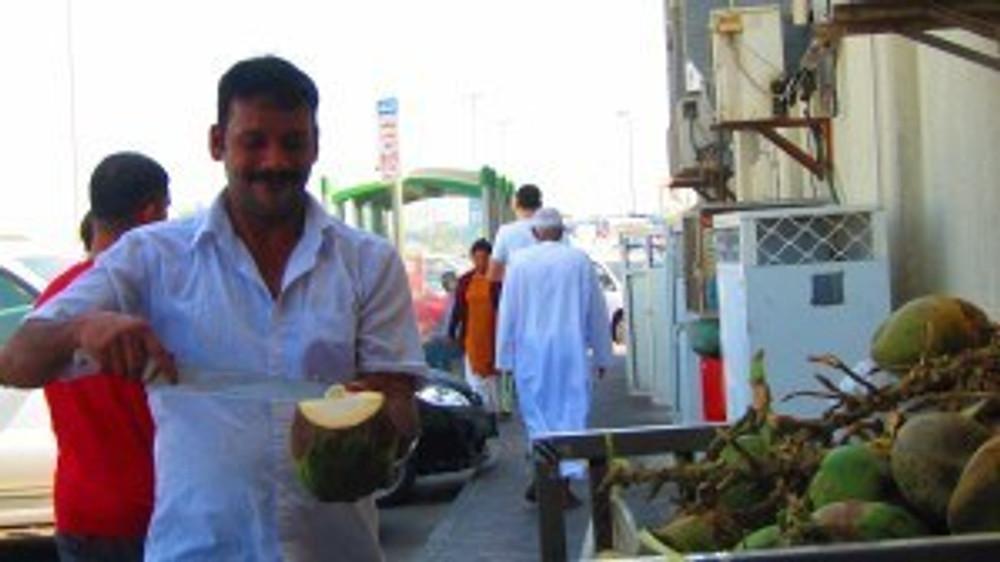 Our Coconut milk man.