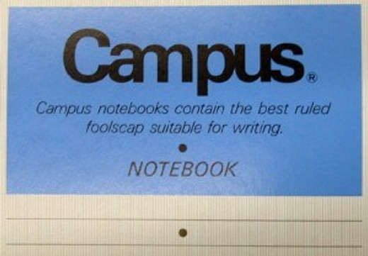 Foolscap? Had to look that one up! http://www.thefreedictionary.com/foolscap. Who knew?