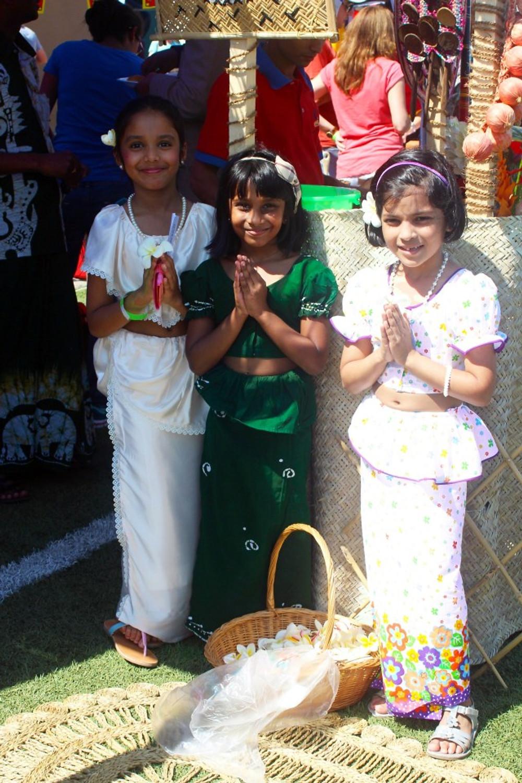 Greeters from Sri Lanka