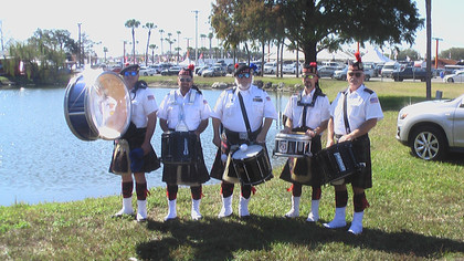 drum line RV show in Tampa 2017