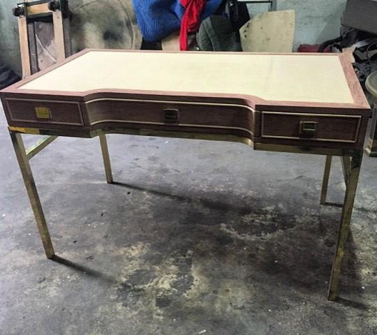 Brass desk