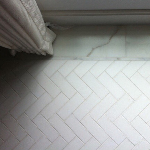 Master bathroom floor
