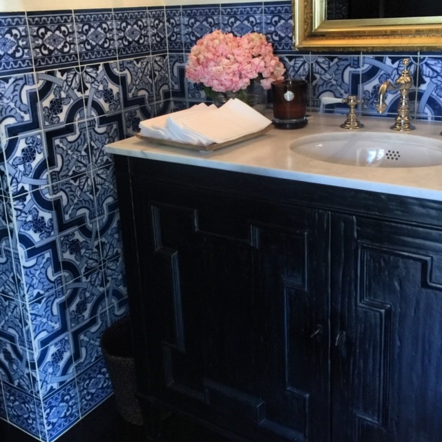 Spanish Powder Room