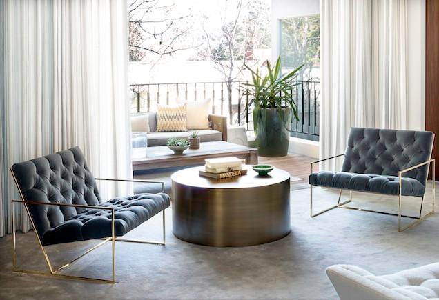 Mid Century Master Suite by Los Angeles interior designer Catherine Fellowes