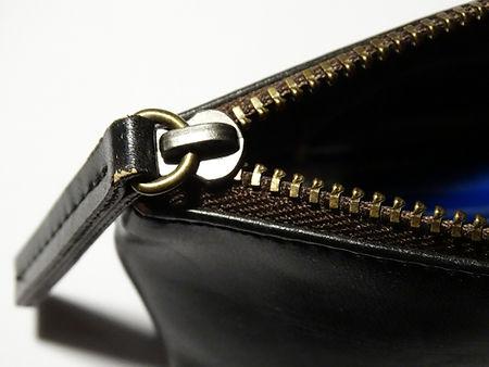 Black Leather Zipper