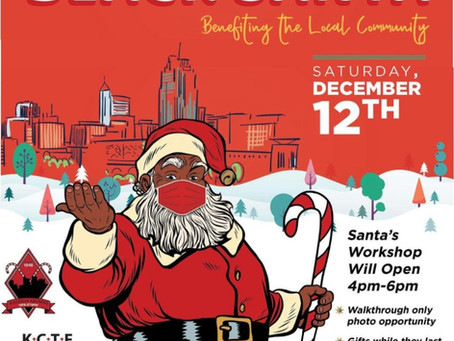 """RAC Day of Giving -  """"An afternoon with Black Santa"""""""