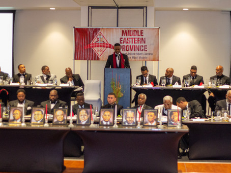 2020 Middle Eastern Province Founders' Day - Rocky Mount, NC