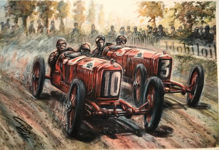 Lancia Race Car