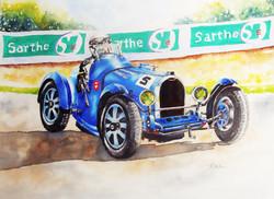 Bugatti 35B completed.