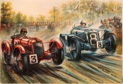 Donnngton 1938 Darracq win