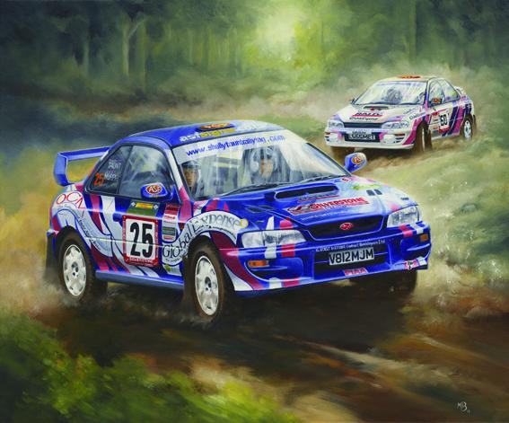 Taunt Rally cars oil.jpg