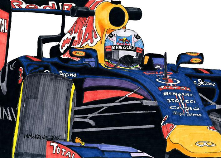 Formula One - Daniel Ricciardo