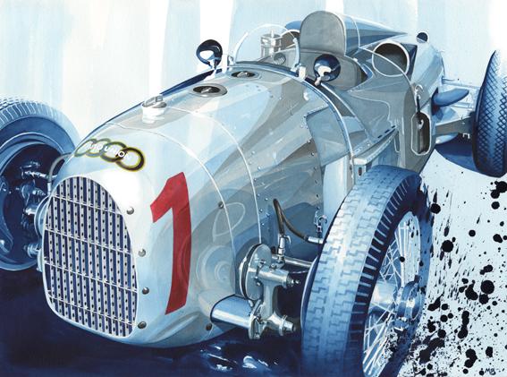 1934 Auto Union Type A Hans Stuck germany gp winner.jpg