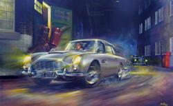 Goldfinger painting (car).JPG