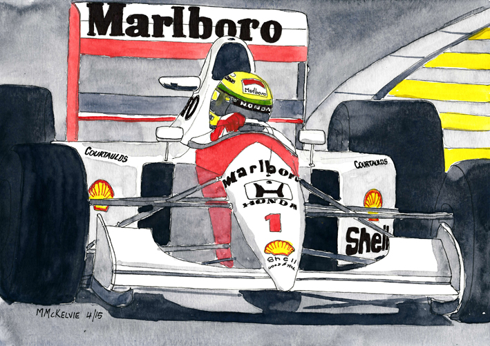 Formula One Ayrton Senna