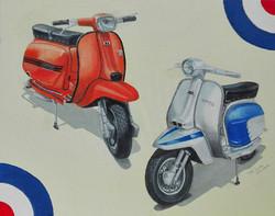 Classic Bikes No.3 - Lambrettas