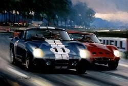 Shelby Cobra and Ferrari 250 GTO