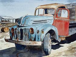 Old Truck Eudlo Sawmill  100