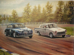 Jag S Type & Lotus Cortina