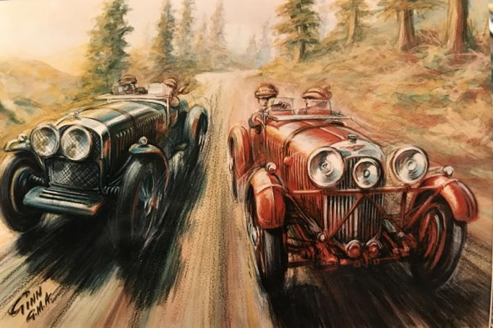 Aston Martin vs Bentley Sunday drive