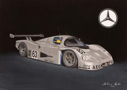 Sauber-Mercedes 1989 Le Mans winner.jpg