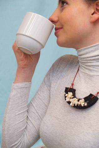 Breakfast - necklace