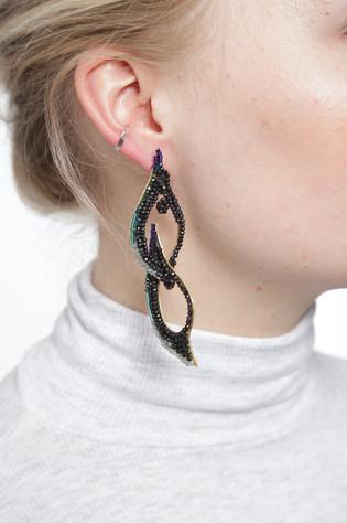 Inked - earrings 2