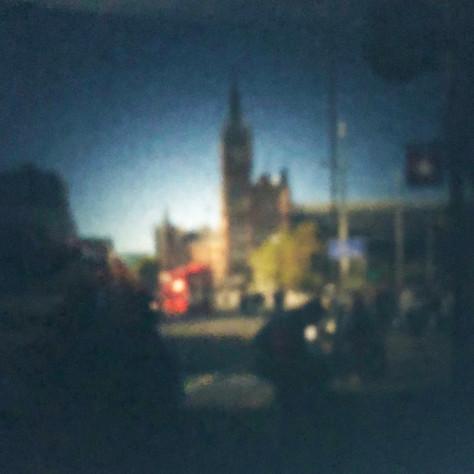 Pocket pinhole camera - image taken by this work