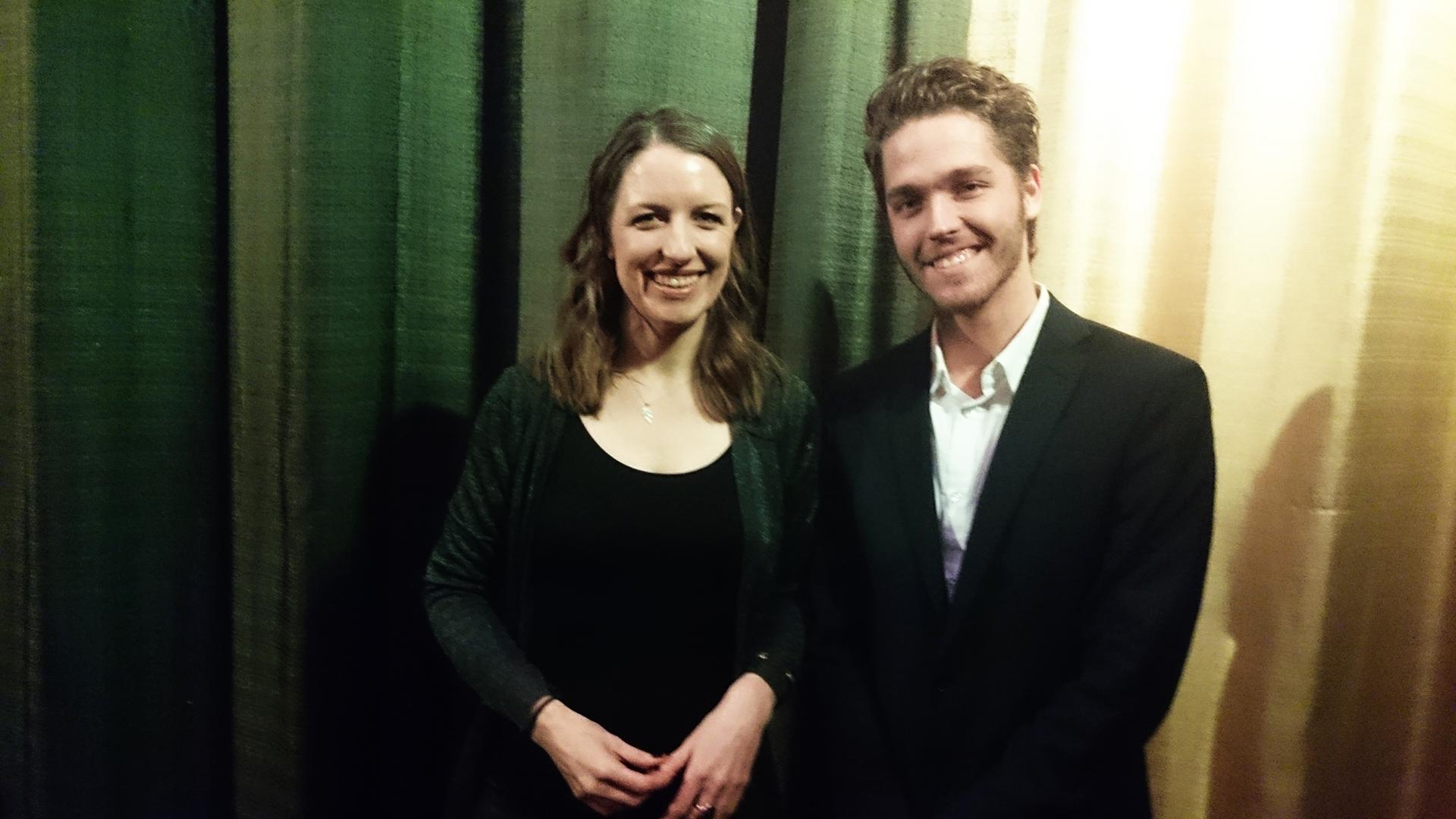 Marc Jungermann & Suzie Templeton