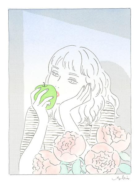 林檎×ばら