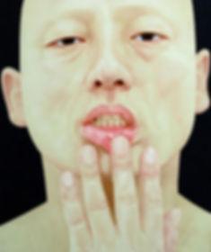 2009, 변웅필, 한 사람으로서의 자화상 076(큰), Oil on C