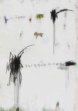 2016, 김중백, untitle, acrylic, charcole, 1