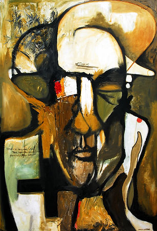 2004, Self portrait 1, Oil on Canvas, 16
