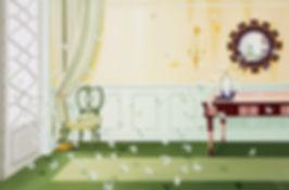 2009, 캔버스틀과 거울사이, Oil on Linen, 80P, 3,3