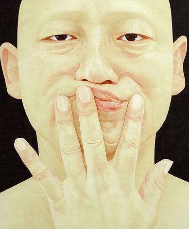 2008, 변웅필, 한 사람으로서의 자화상 067(큰), Oil on C